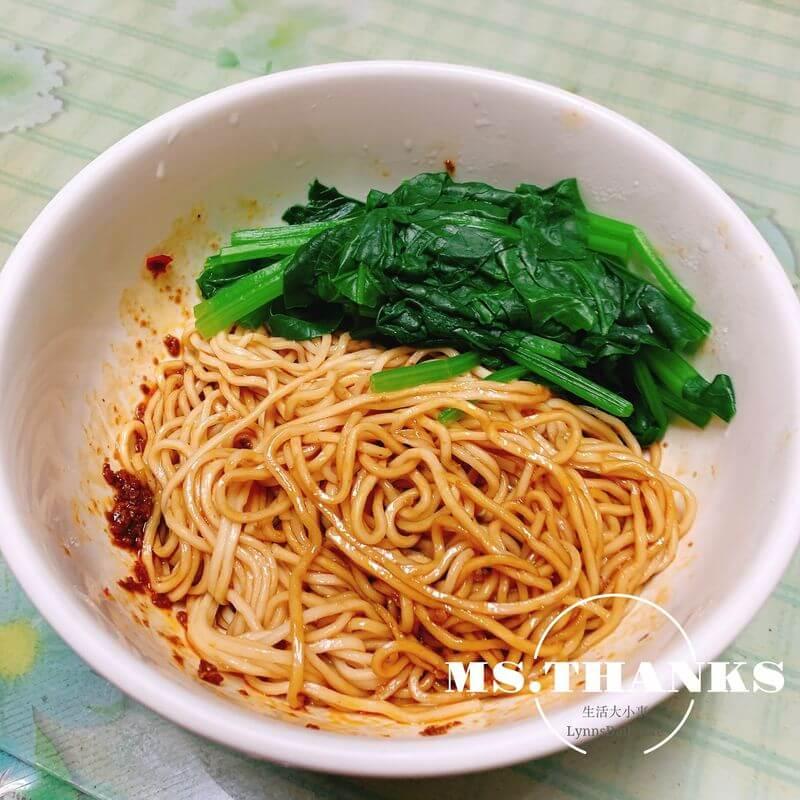 麵條先生Mr.Noodle手工拌麵-紅油烏醋